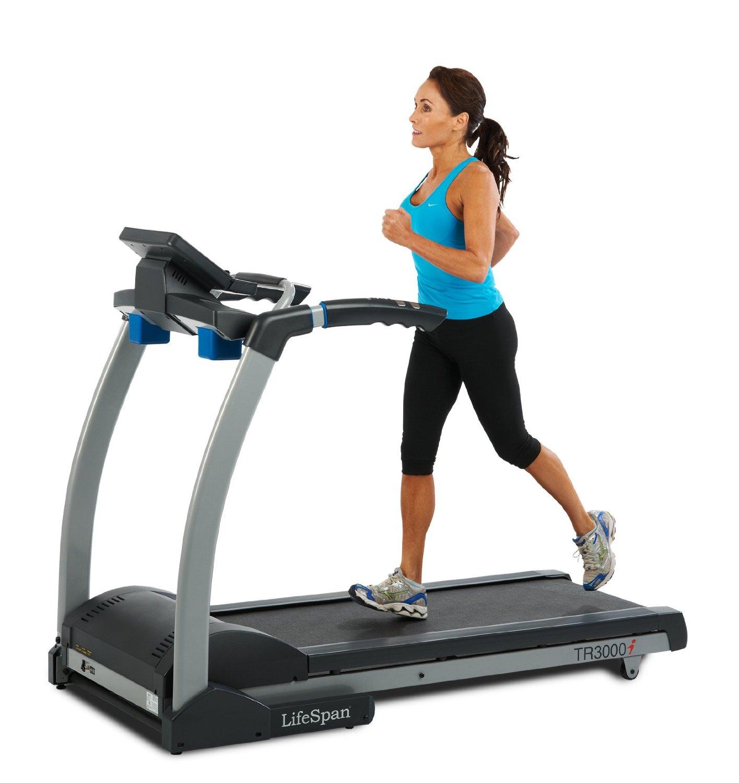 Life Fitness Treadmill Units: LifeSpan TR3000i Folding Treadmill Review