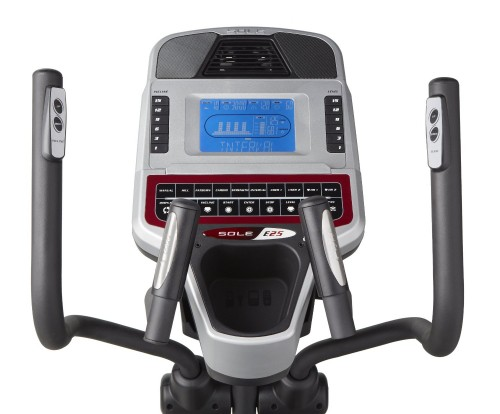 Sole E25 Elliptical Trainer Console
