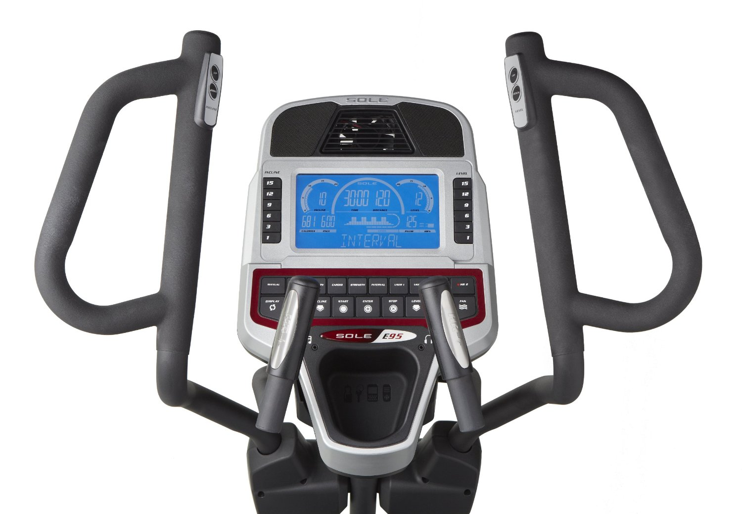 Sole E95 Elliptical Machine Console