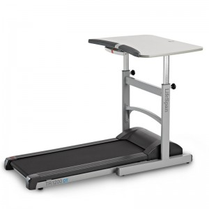 TR1200-DT5 Treadmill Desk Rear