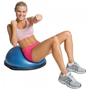 BOSU Balance Trainer review