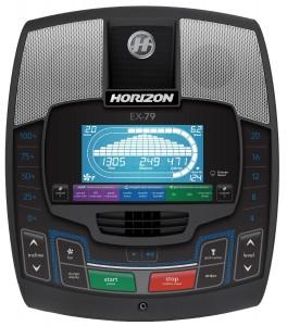 Horizon Fitness EX-79-2 Console