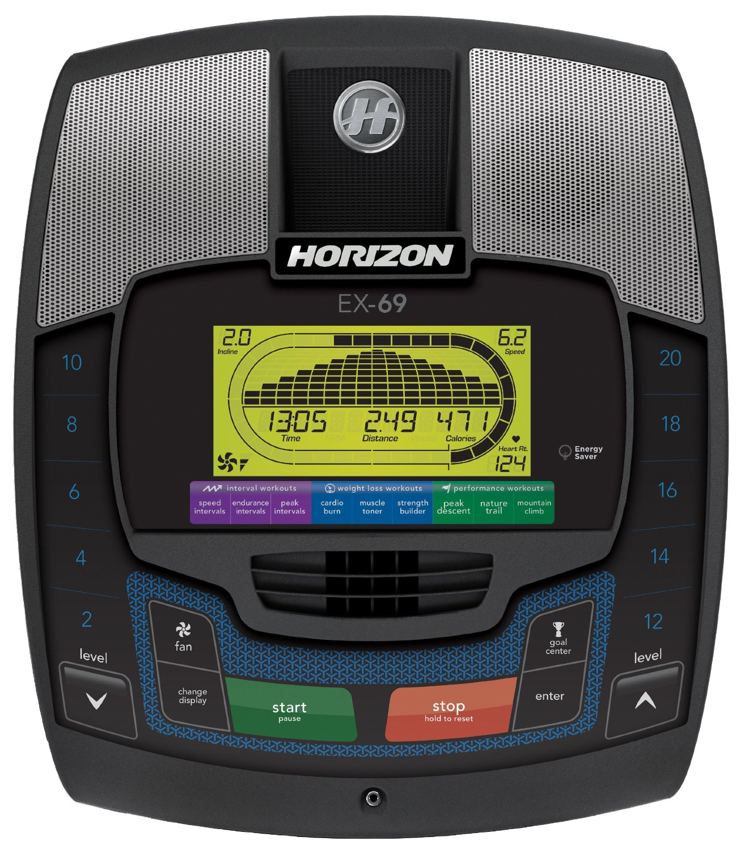 Horizon Elliptical Ex 69 Manual: Horizon Fitness EX-69-2 Elliptical Trainer Review 2015