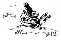 Schwinn 520 Dimensions