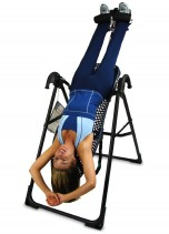 Upside down on an invrstion table