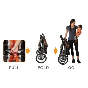 Graco Fast Action Fold Stroller options