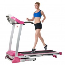 sunny and health pink treadmill