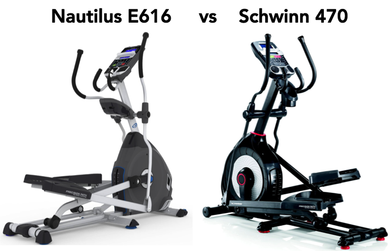 Nautilus E616 vs Schwinn 470 Ellipticals Best Price review