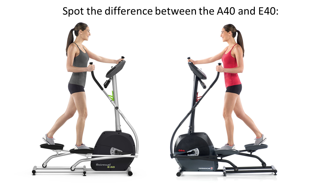 a40 vs e40 elliptical differnace features and best price