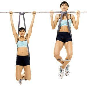 Assisted-Pull-Up-with-Bands