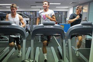 Intervals on Treadmill