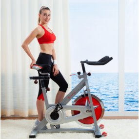 can an exercise bike help remove love handles?