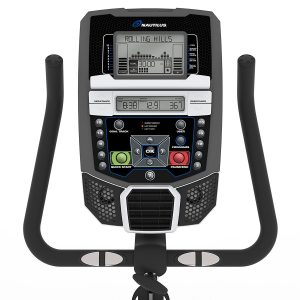 Nautilus U614 Upright Bike Review Console